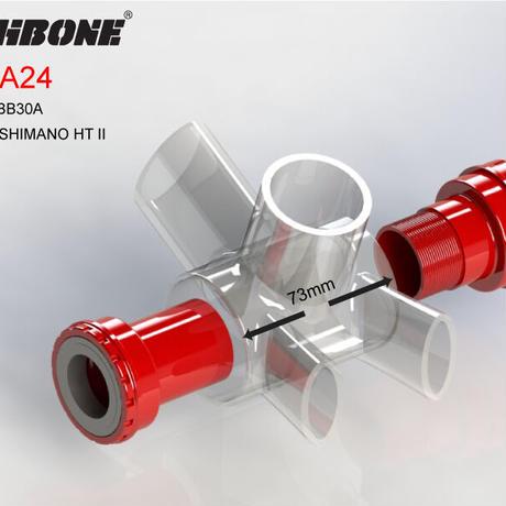 WISHBONE BB30A24