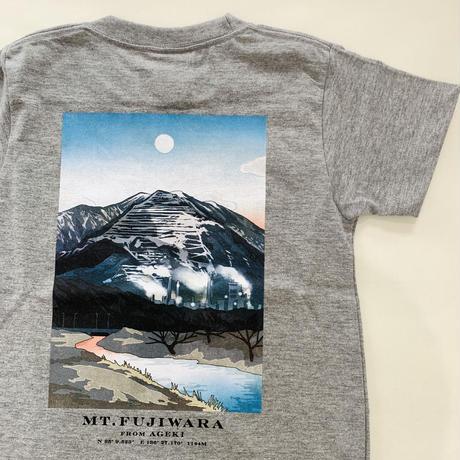 カチ ナツミ × 岩田商店オリジナルTシャツ [ Mt.FUJIWARA from AGEKI ]Postcard set  キッズサイズ