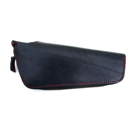 LAMY safari original pen case/Saddle leather Black(ペンケース)