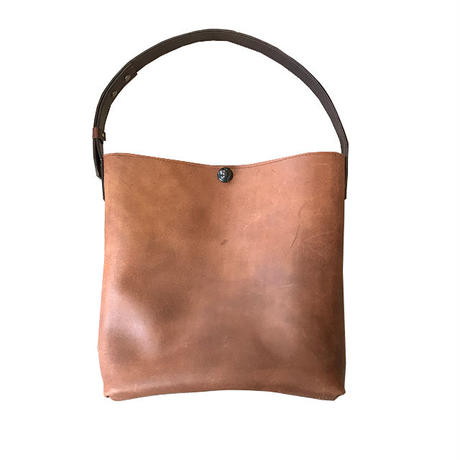 Tote bag S/ Dark Brown Mirror finish /ドイツホックタイプ