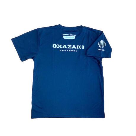 岡崎建設OWLS オリジナルTシャツ(ネイビー)