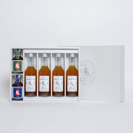 【ギフト】伊良コーラ飲み比べセット ギフトボックス入り