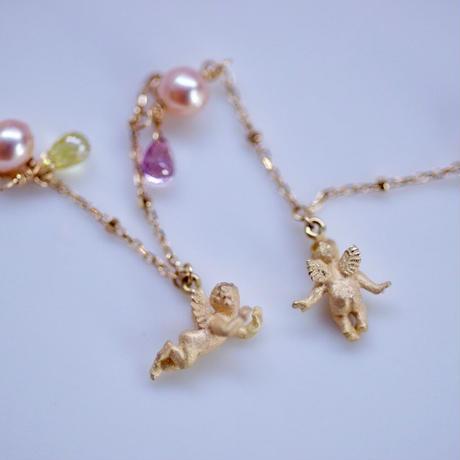 K18小さな天使のブレスレット(角江千代治先生)