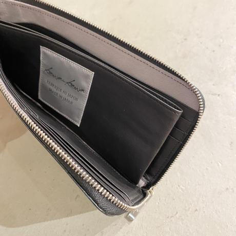 kawakawa     glitter  L-shaped zipper wallet