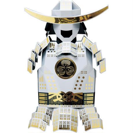ORIGAMI SAMURAI 折り紙甲冑キット【白/ホワイト/White】