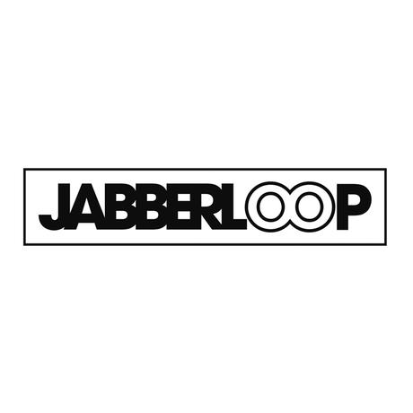 JABBERLOOPビッグシルエット Tシャツ・ブラック【受注生産】