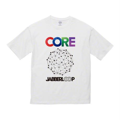JABBERLOOPビッグシルエット Tシャツ・ホワイト【受注生産】