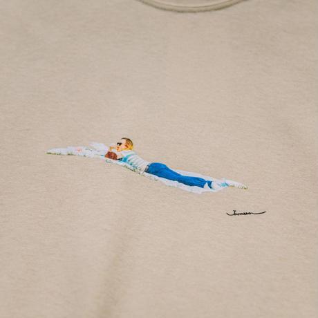 【Long T-shirts】happen New York  'NY CHIP GIRL'  (19211901TP063-beg)