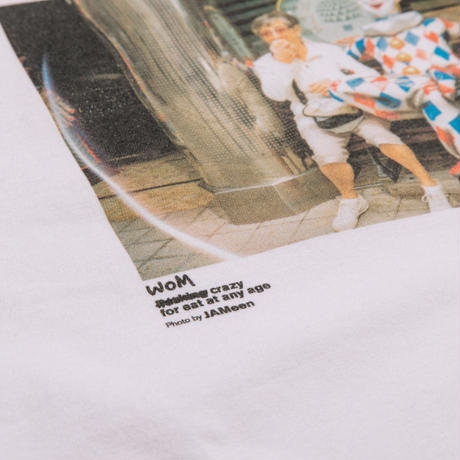 【T-shirts】CRAZY FOR EAT ANY AGE( SNB-J-61W)