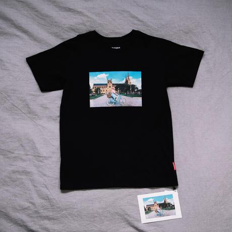 【T-shirts】 happen Australia    'Funky obachan'(H0970-19A)