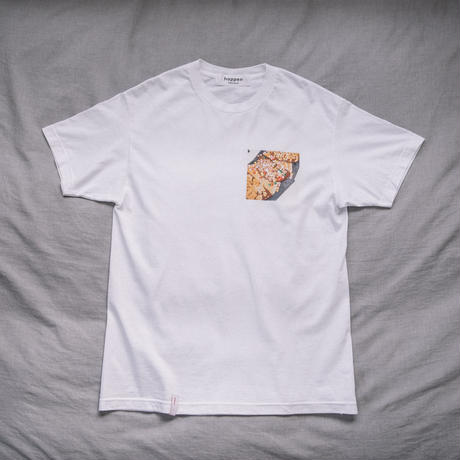 【T-shirts】happen Amsterdam  'Bee sticks stroopwafel' (T200801-wht)