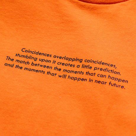 【Long T-shirts】happen switzerland   'Cigarette obacyan'  (H4952-org)