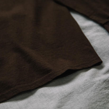 【Long T-shirts】happen New York 'NY CHIP GIRL'  (19211901TP063-brn)