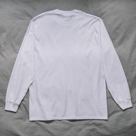 【Long T-shirts】happen New York 'NY CHIP GIRL'  (19211901TP063-wht)