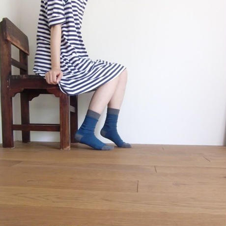 U&DESIGN SOCKS / ブルー