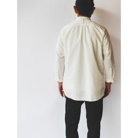【 Band Collar Shirt 】