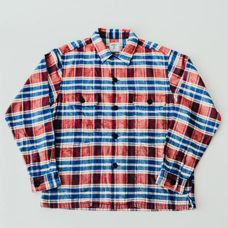 【Flannel Shirts】col. レッド