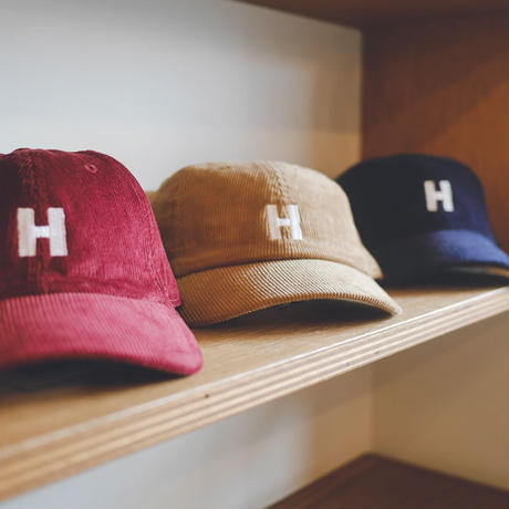 【 JAMESabc  コーデュロイ  HOLIDAY CAP 】