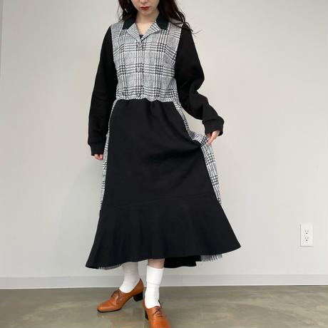 【SHINPIN×jane's vintage】Black mermaid dress