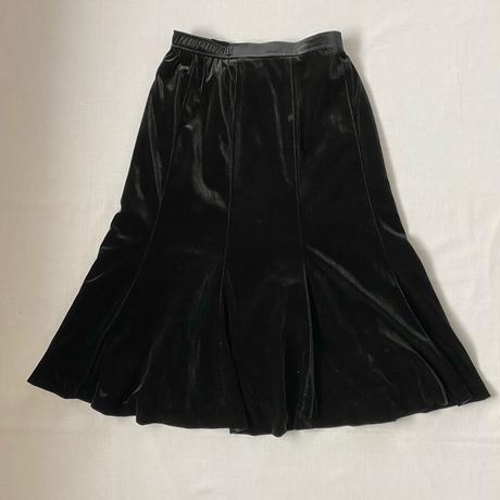Made in Japan velvet skirt