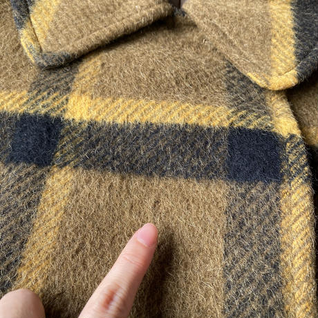 【SALE】Made in Japan Plaid long coat