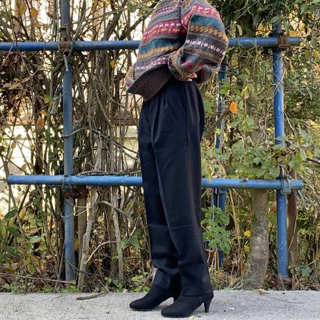 Made in Italy black pants