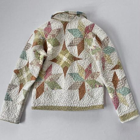 Quilting patchwork remake jacket