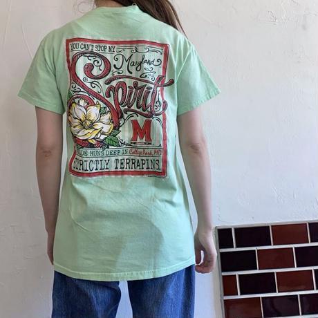 M printed t shirt