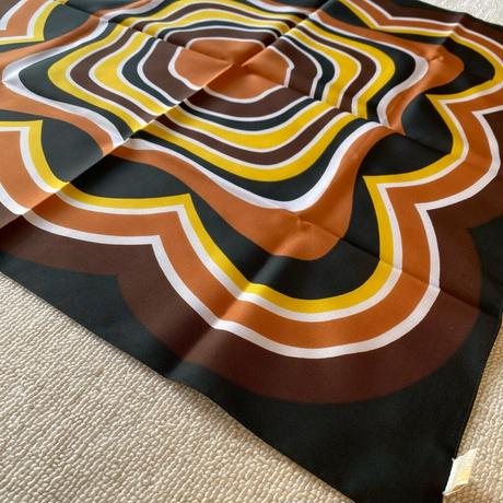 Psychedelic pattern scarf