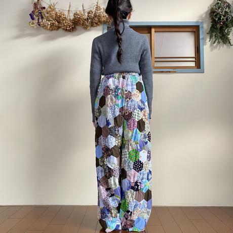 【Remake】Patchwork quilt pants 2