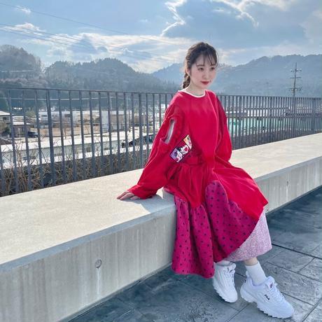 【SHINPIN×jane's vintage】Red dress