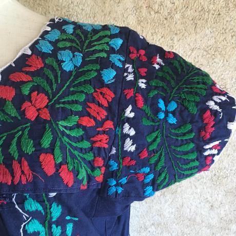 メキシカン刺繍ワンピース