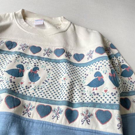 Duck pastel color sweatshirt