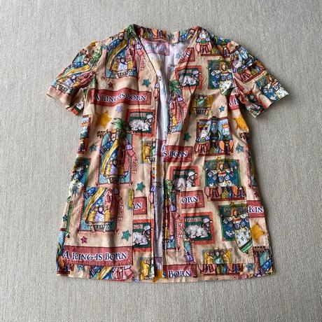 Cartoon pattern shirt