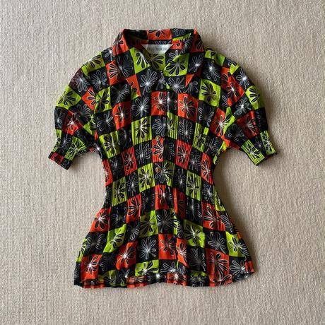 Pleats blouse
