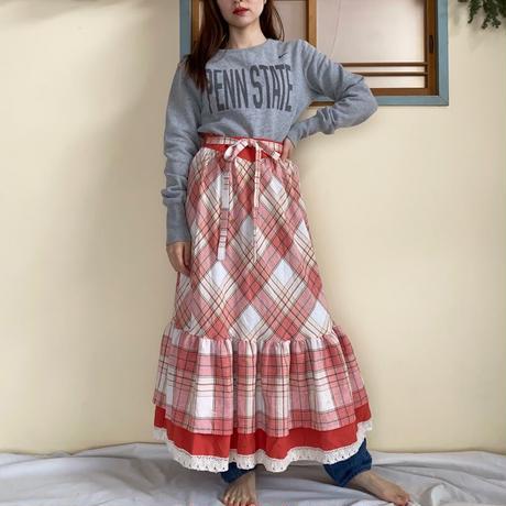 Vintage volume skirt