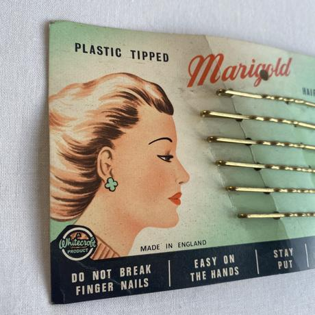 Made in England 1940s deadstock hair grips