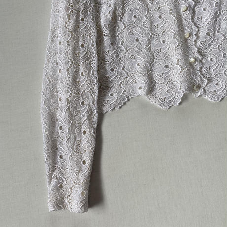 70s lace blouse