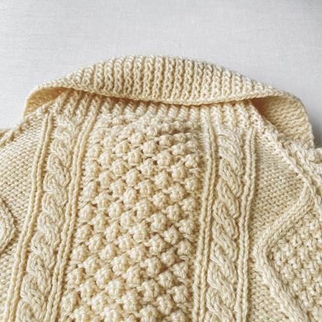 Made in Ireland 70s handknited Fisherman sweater