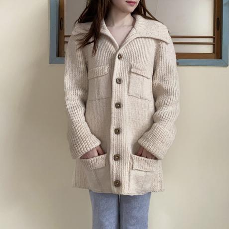 70s wool cardigan