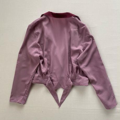 Purple jacket shirt