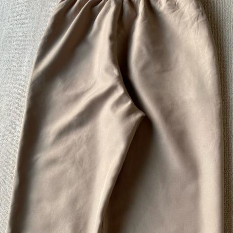Beige easy pants