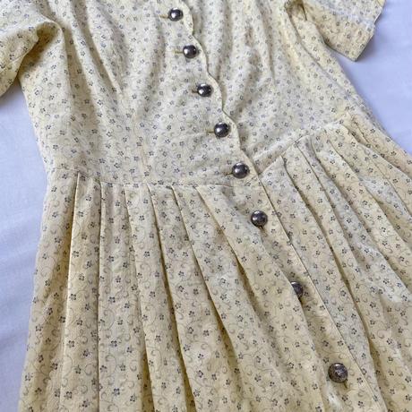 Tyrolean spring dress