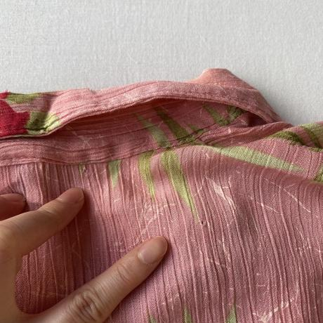 Pink hawaiian shirt