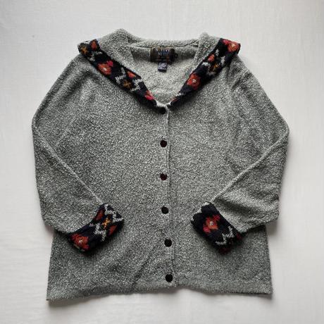 [インスタライブ]Big collar cardigan