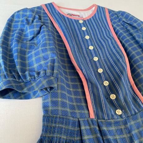 Tyrolean blue dress