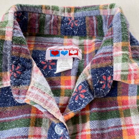 Country pattern shirt