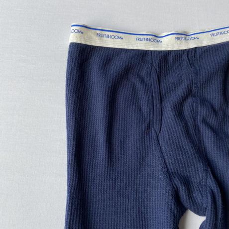 Fruit of the loom thermal pants navy