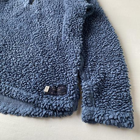 Blue fleece