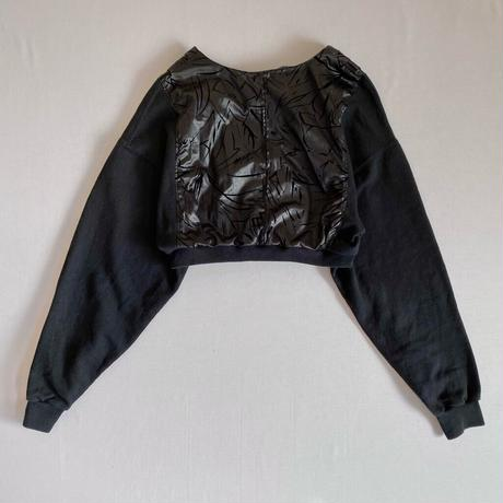 【SHINPIN×jane's vintage】Black short top